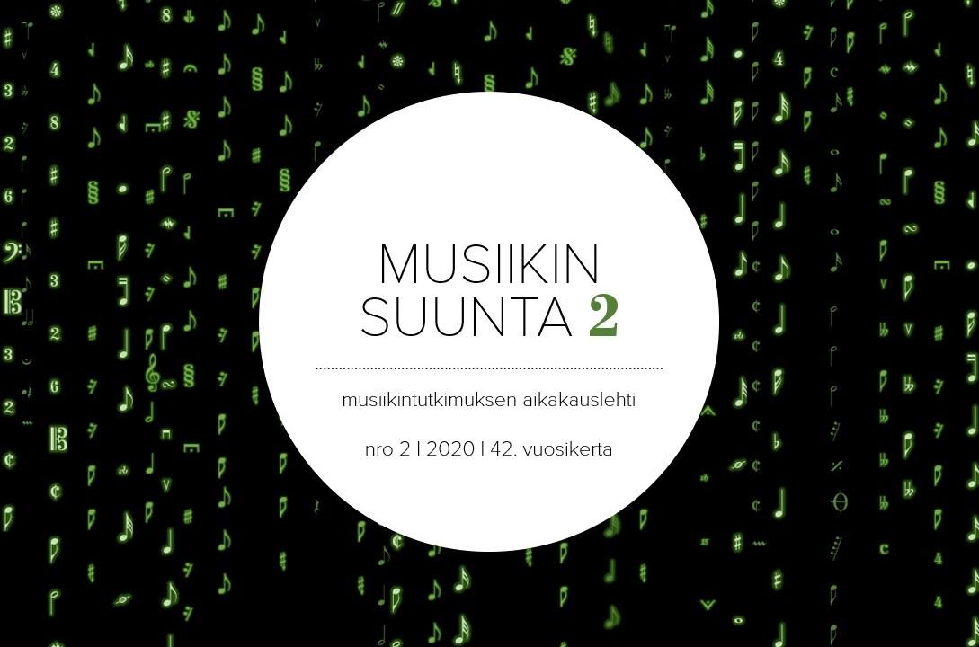 Musiikin suunta -verkkolehden kansikuva numerosta 2/2020.