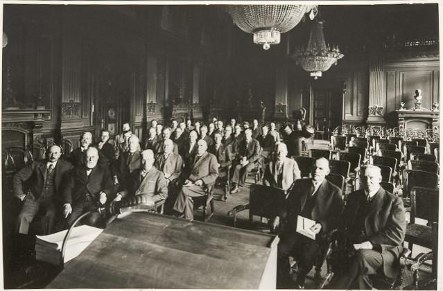Suomalais-Ugrilaisen Seuran kokous Säätytalossa 24.9.1931.
