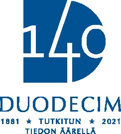 Blåvit logo.